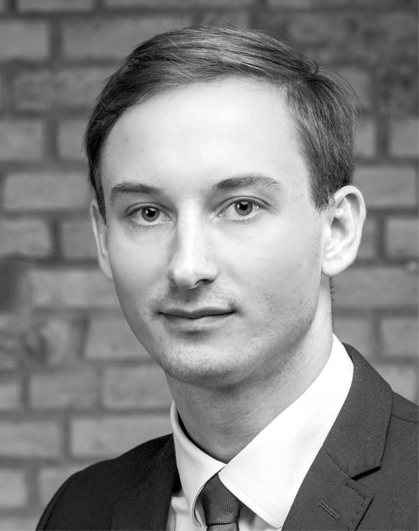 Marcin Pancer radca prawny w kancelarii Olszenko, Kamiński i Wspólnicy
