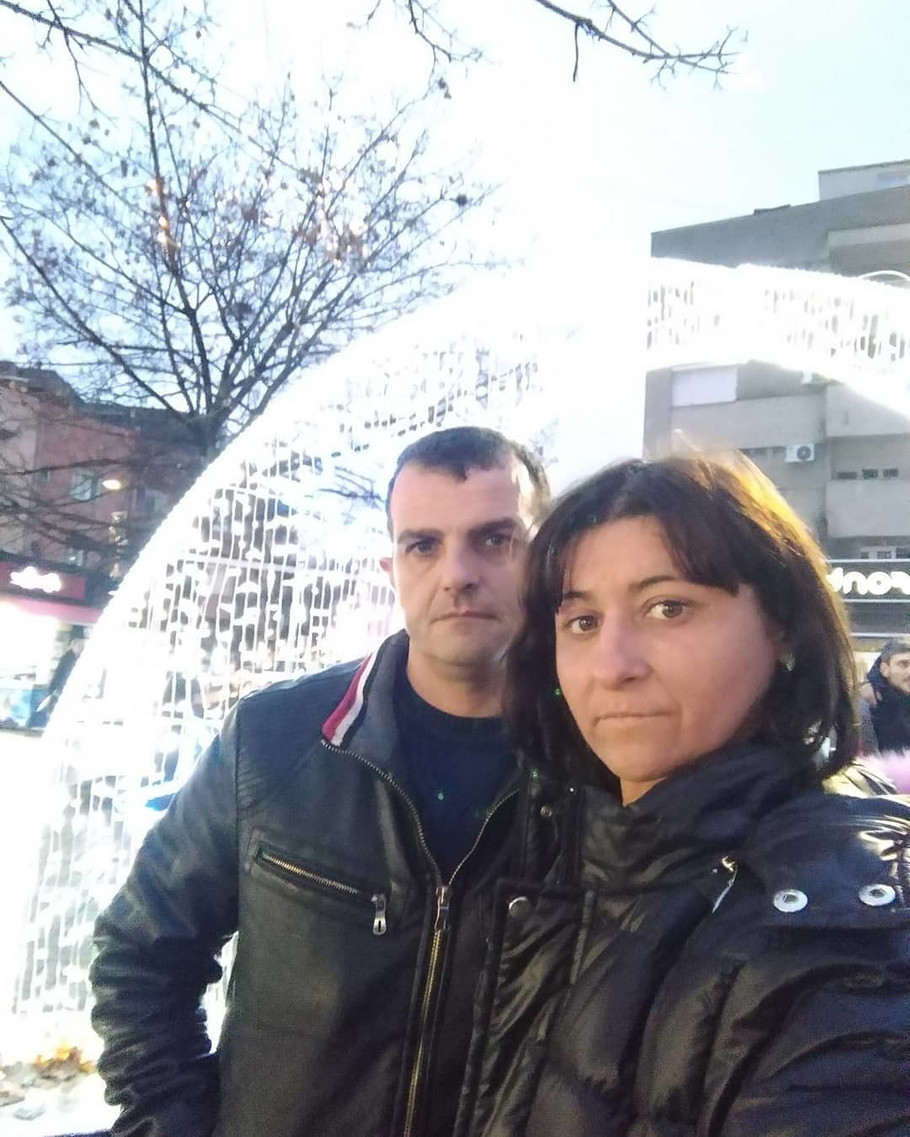 Ivana Živković Žizela sa verenikom