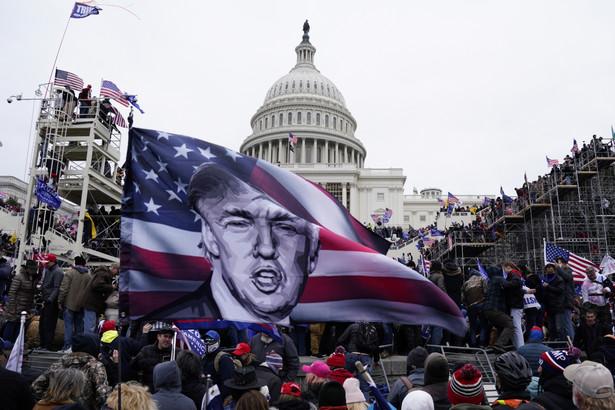 Protesty przed Kapitolem