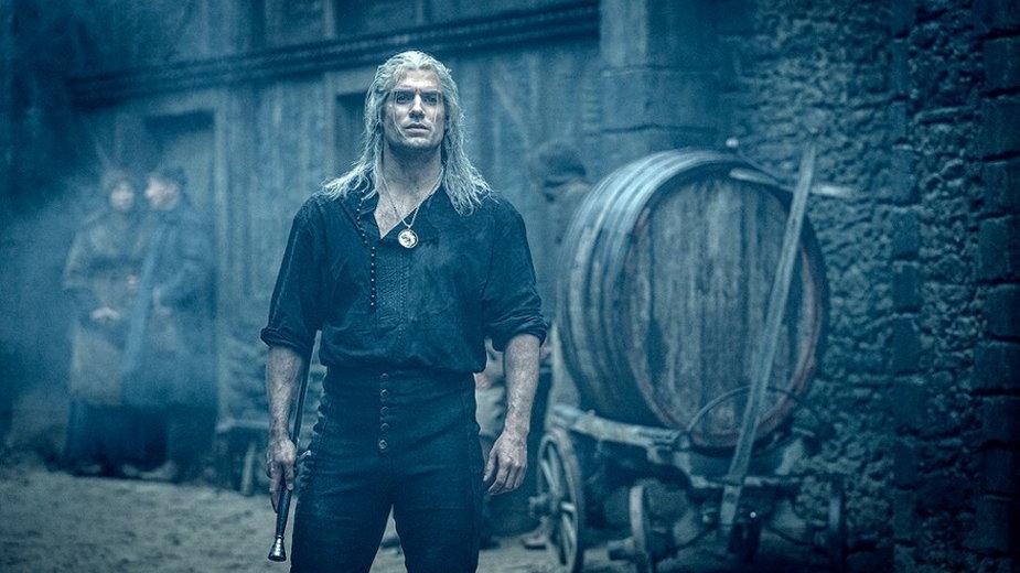 "Henry Cavill jako Geralt z Rivii w serialu ""Wiedźmin"" (2019)"