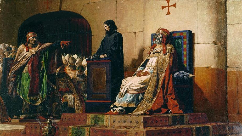 Jean-Paul Laurens, Papież Formozus i Stefan VI, 1870
