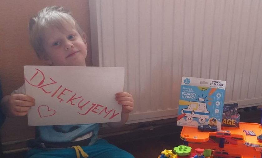 Radlin: 4-latek miał urodziny na kwarantannie