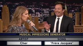 Celine Dion w programie Jimmy'ego Fallona naśladuje Rihannę, Cher i Się