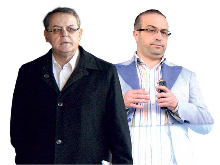 Nebojša Čović i Bojan Radovanović