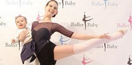 Baletnica ćwiczyła nawet w ciąży!