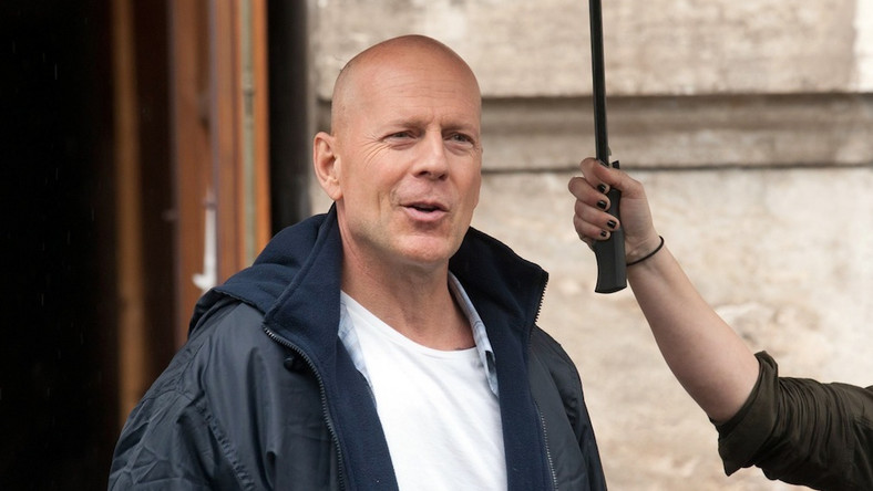 "Bruce Willis na planie ""A Good Day to Die Hard"""