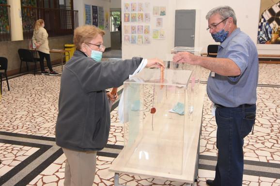 Glasanje u Novom Sadu