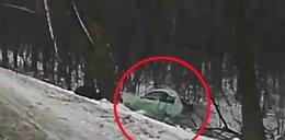 Tragiczny finał jazdy Audi. Przerażające nagranie