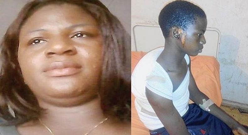 Dr Jane Ugbah and the brutalised Chidiebere Nwanga
