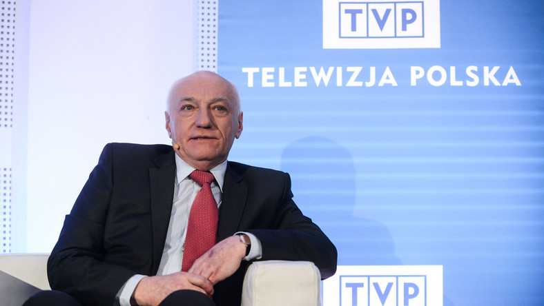 Były prezes TVP Janusz Daszczyński