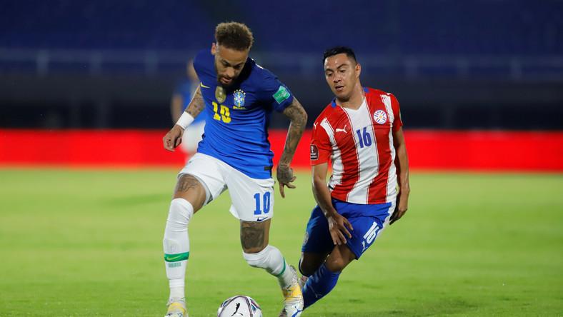 Neymar i Angel Cardozo Lucena