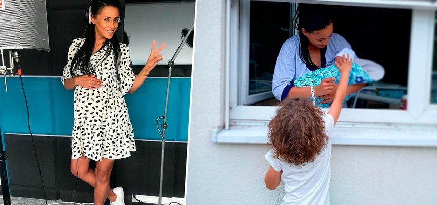 Aleksandra Szwed niedawno urodziła. Pokazała jak wyglądało pierwsze spotkanie jej dzieci w szpitalu