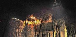 Klasztor w ogniu!