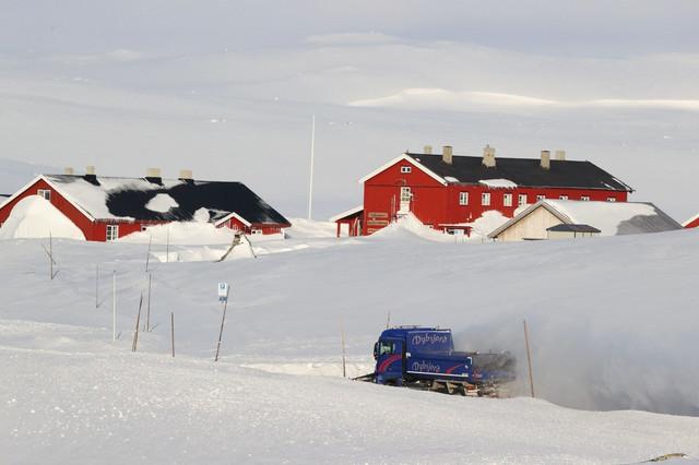 Prirodan karantin - mesto Hardangervida u Norveškoj u aprilu