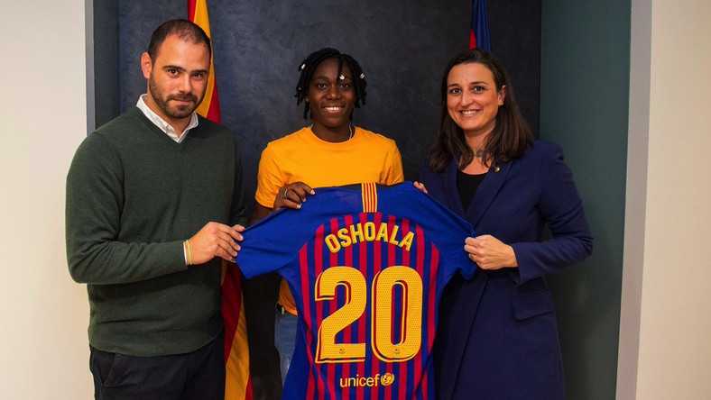 a08d33529 ... 2019 Women s World Cup. Barcelona move affords Super Falcons star  Asisat Oshoala the fitness to make much-needed statement
