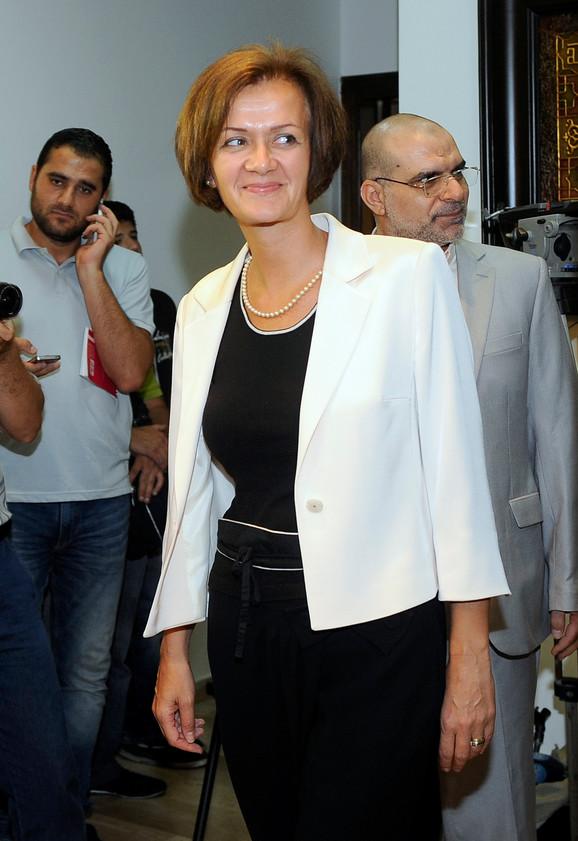 Angelina Ajhorst je već 20 godina činovnik EU, do sada je bila na čelu Odseka za zapadnu Evropu, zapadni Balkan i Tursku