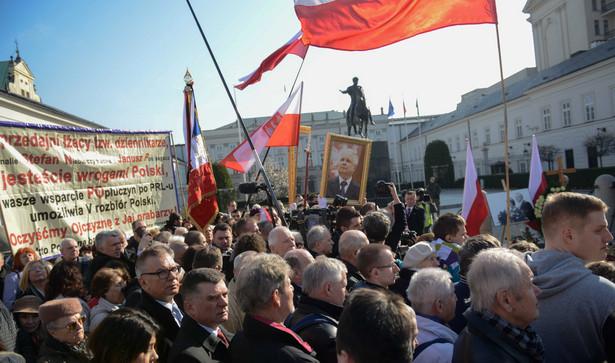 Warszawa w 5. rocznicę katastrofy smoleńskiej