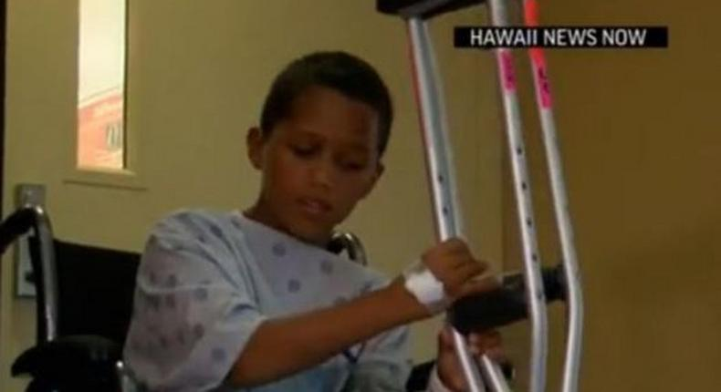 10-year-old boy survives shark attack by kicking it on the nose