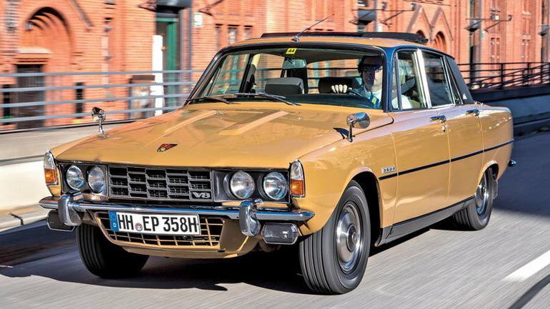 Rover P6 3500 - klasyk w dobrej cenie