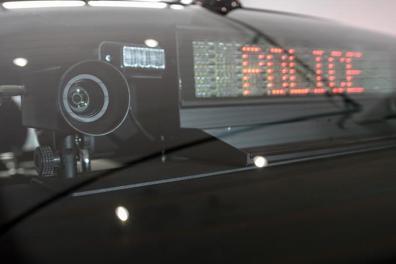 Nieoznakowany radiowóz policyjny BMW