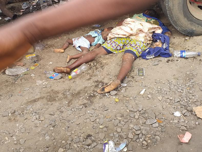 Pure water seller killed by a tipper in oshodi