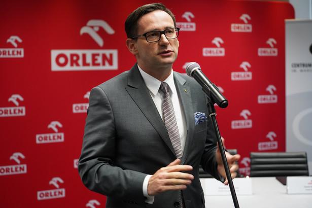 08.07.2019 Warszawa . Daniel Obajtek . Prezes Zarzadu Orlenu . Fot . Piotr Hejke / Agencja Gazeta