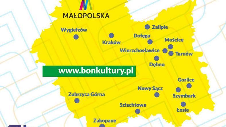 Oferta kulturalna Małopolski na wyciągnięcie ręki. Bon Kultury po raz szósty