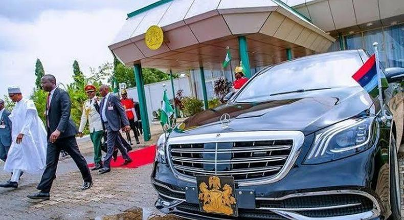 One of the presidency's Mercedes (Autocheck blog)