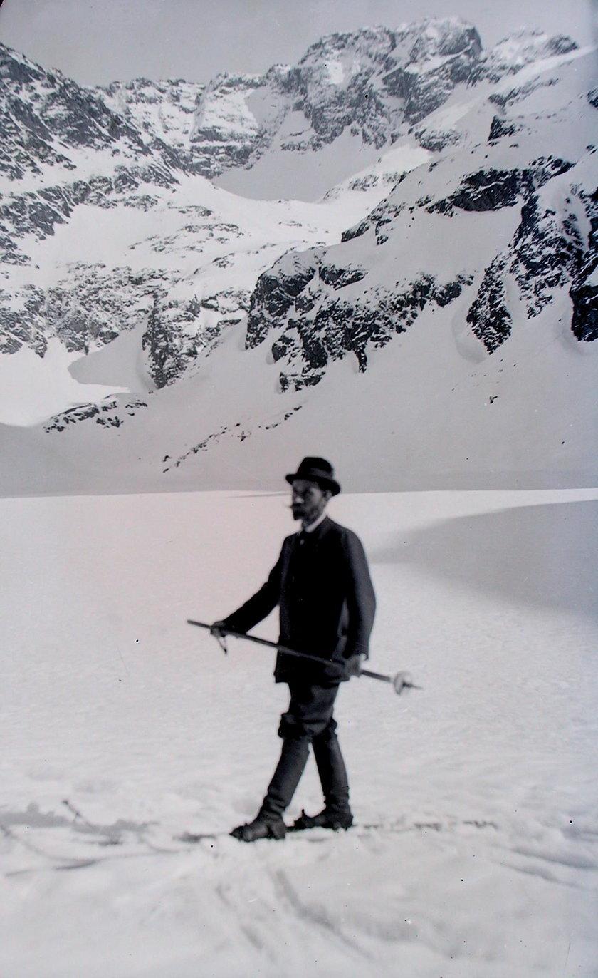 To on wymyślił polskie narty. Historia wizjonera z Bochni