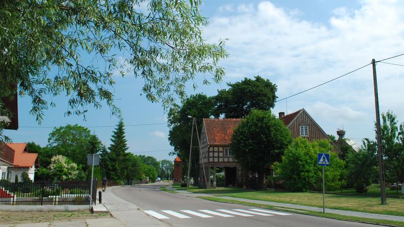 Dom podcieniowy, Nowa Kościelnica