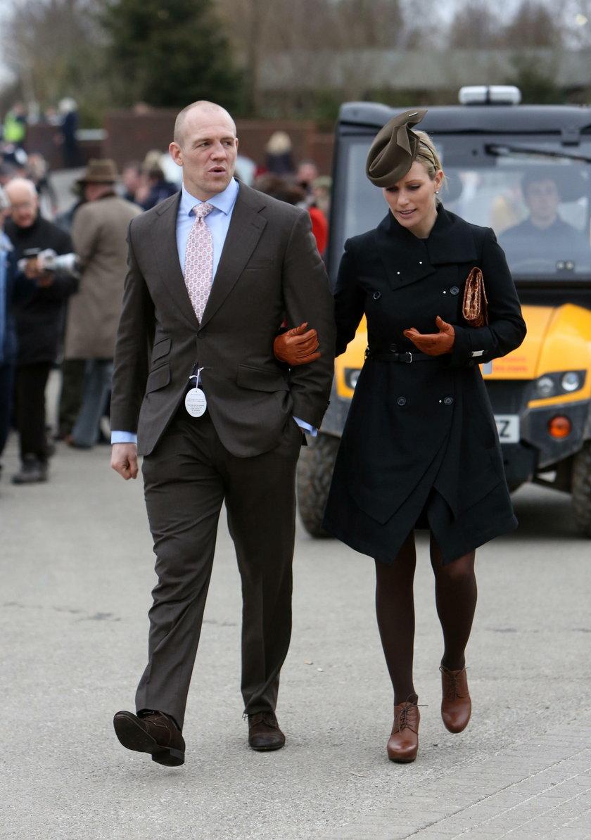 Zara Phillips i jej mąż Mike Tindall stracili nienarodzone dziecko
