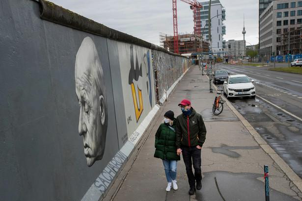 Niemcy, Berlin, Mur Berliński, koronawirus