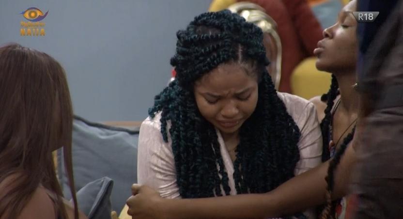Nengi weeps over Ozo's eviction