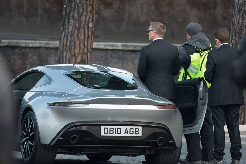 "Aston Martin DB10 z filmu ""Spectre"""