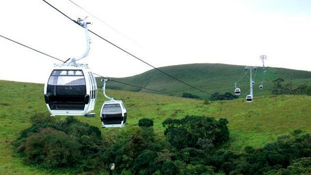 Obudu Cattle Ranch's cable cars