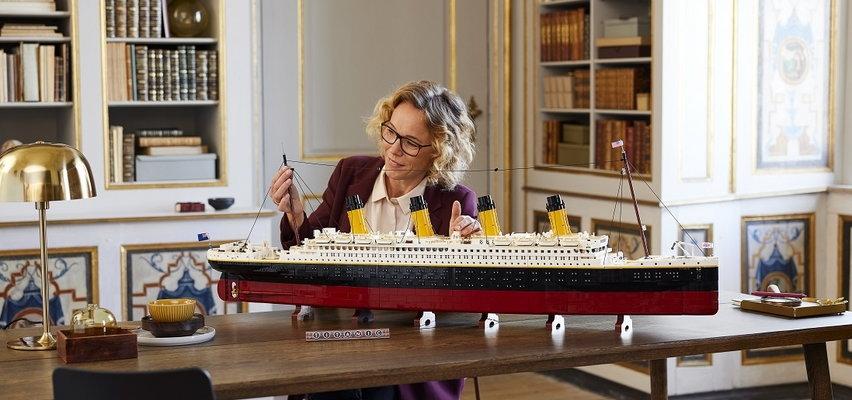 Titanic z klocków Lego. Musisz to zobaczyć!