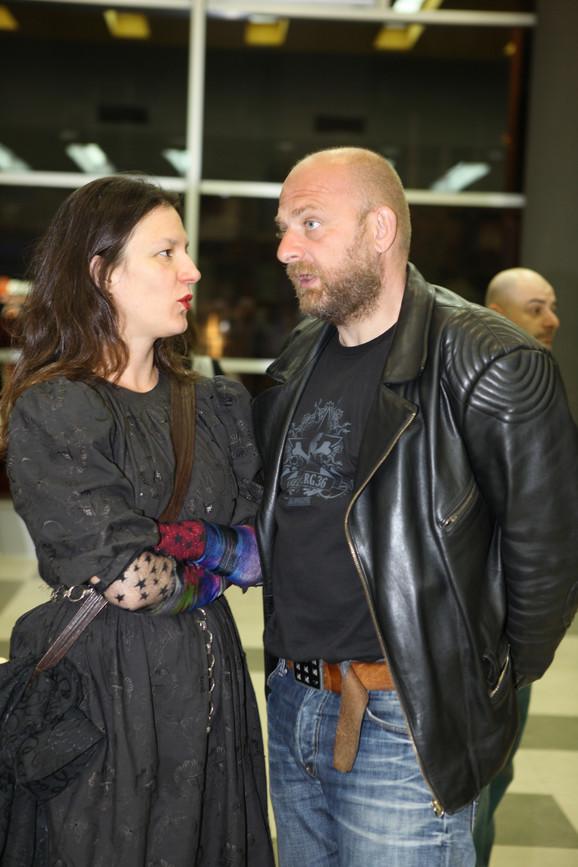 Milena Marković i Oleg Novković