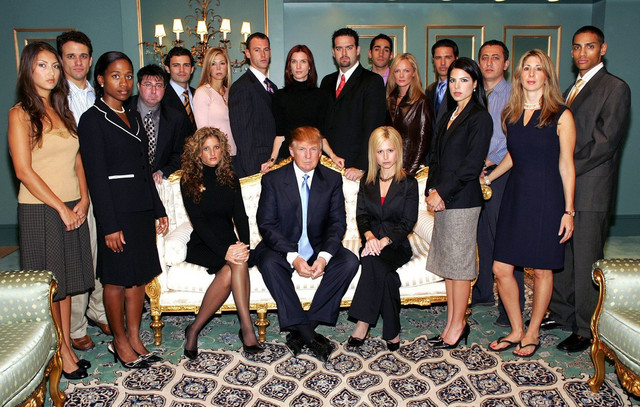 "Tramp sa ekipom sedme sezone rijaliti šoua ""The Apprentice"""