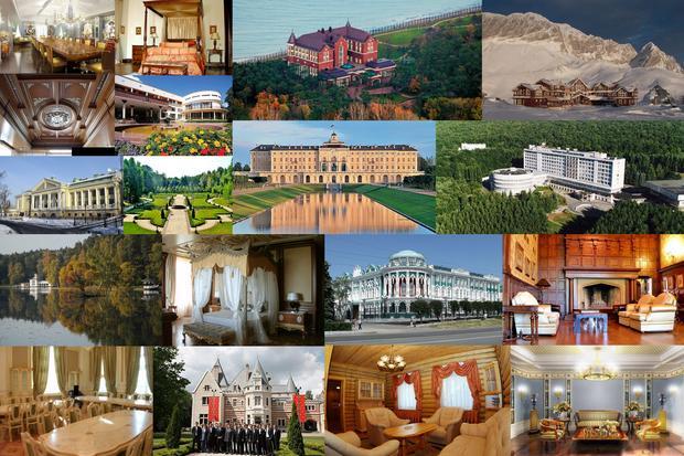 Rezydencje prezydenta Rosji