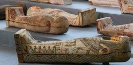Niezwykłe odkrycie w Egipcie. Odkopano bezcenne mumie sprzed 2,5 tys. lat
