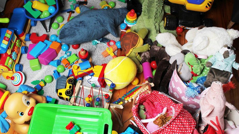 Chłopiec nie chciał posprzątać zabawek