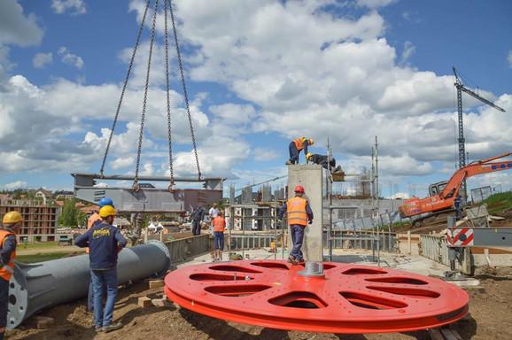 Do sada završene dve od pet faza gradnje gondole