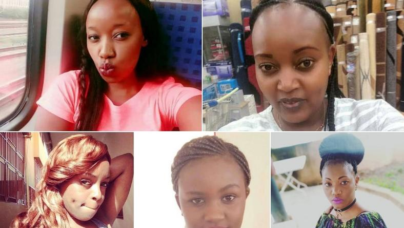 5 Kenyan ladies who were murdered in 2018 including Monica Kimani and Sharon Otieno