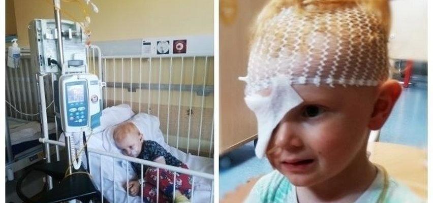 3-letni Tomek walczy z okrutną chorobą. Zaczęło się od bólu głowy...