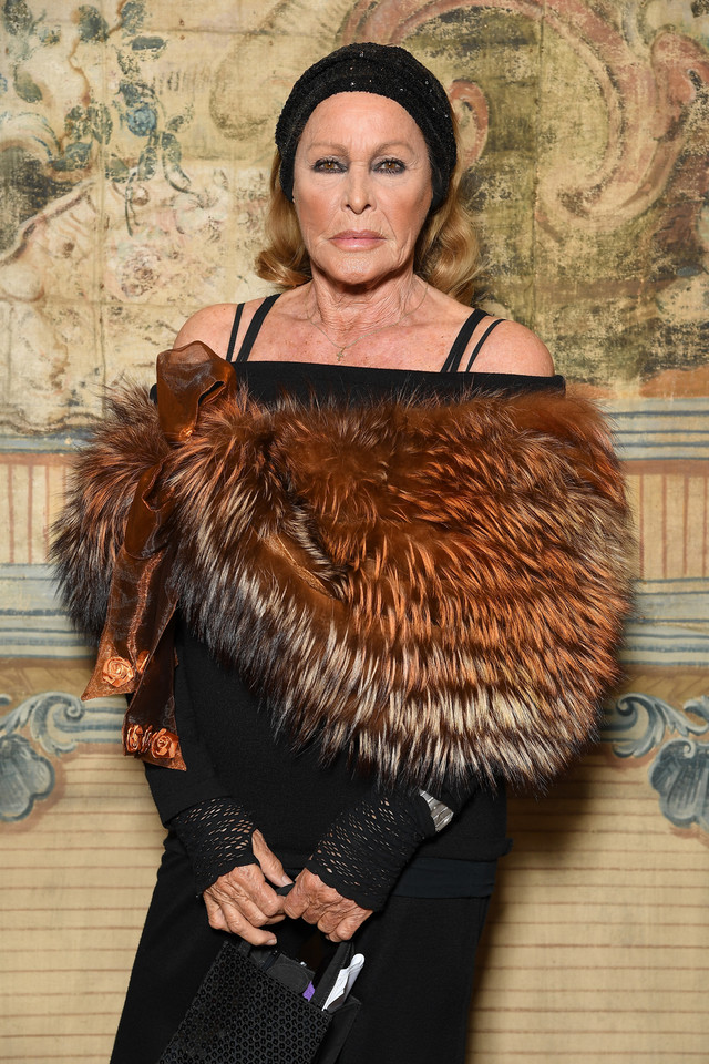 Ursula Andress w 2017 r.