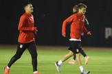 Fudbalska reprezentacija Srbije, trening