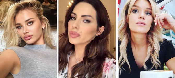 Sa šminkom izgledaju fenomenalno, a šta se dešava kada je skinu?