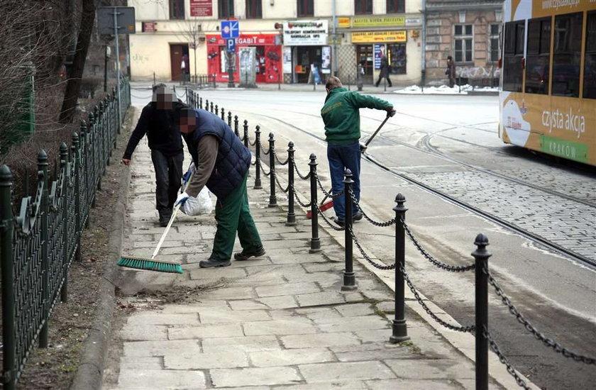Śmieci w Krakowie