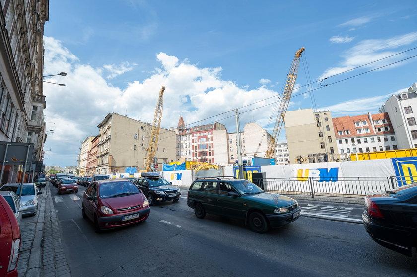 Budowa biurowca przy ul. Ruskiej we Wrocławiu