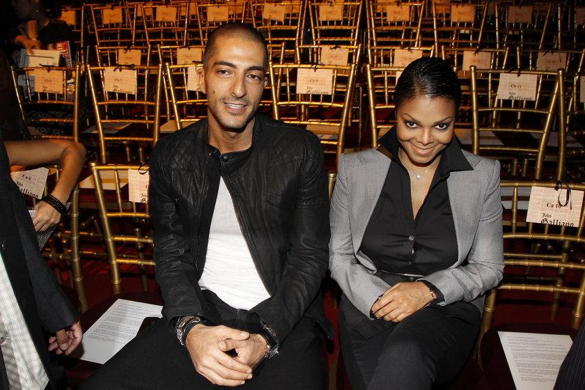 Janet Jackson (piosenkarka) i Wissam Al Mana (katarski milioner)